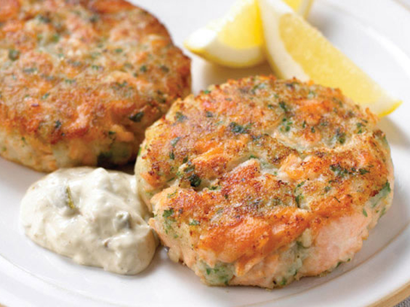 The Best Salmon Fish Cake Recipe